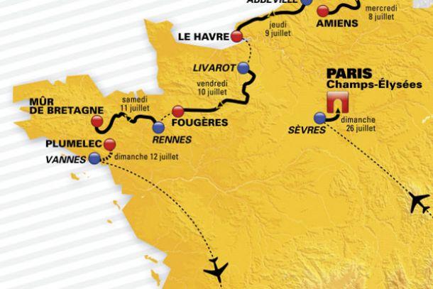 Tour de France, 9° tappa: una cronometro a squadre chiude la prima fase di corsa