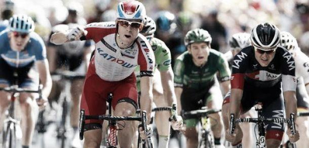 Tour de France 2014 : Kristoff en remet une... au bout du suspense !