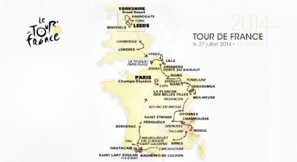 Tour de France 2014 : Présentation du parcours [2/3]