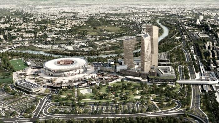 Roma: spiragli positivi per la costruzione del nuovo stadio