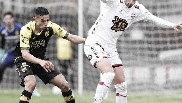 Santamarina obtuvo un valioso empate ante Barracas Central