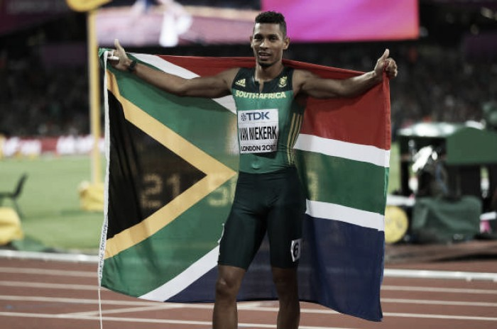World Athletics Championships: Wayde Van Niekerk eases to 400m gold