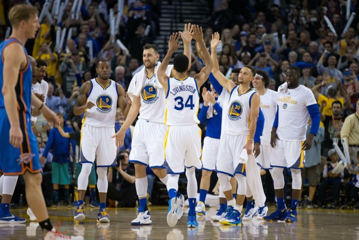 NBA, la dimostrazione della forza del gruppo dei Golden State Warriors