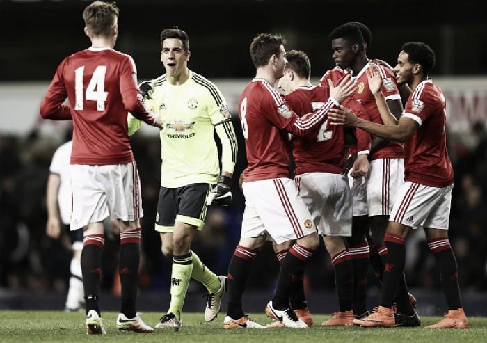 Tottenham Hotspur U21 2-3 Manchester United U21: Reds lift title with 94th minute Varela winner