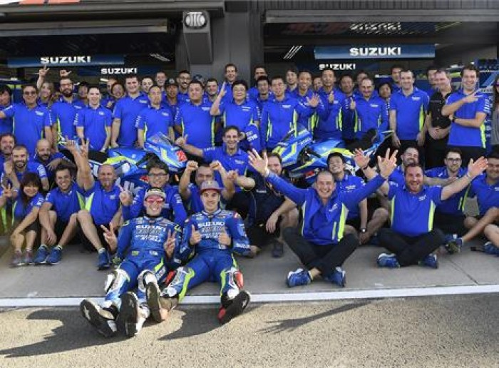 End of a positive two years for Team Suzuki Ecstar, Vinales and Aleix Espargaro
