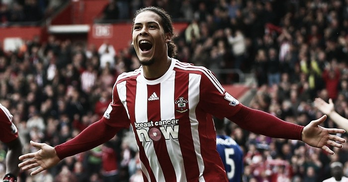 """Van Dijk sets his sights on """"something beautiful"""" with Southampton"""
