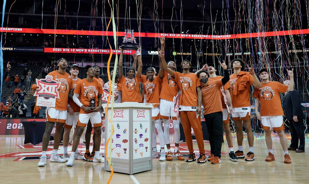 Big 12 championship game: Texas outlasts Oklahoma State for first tournament title