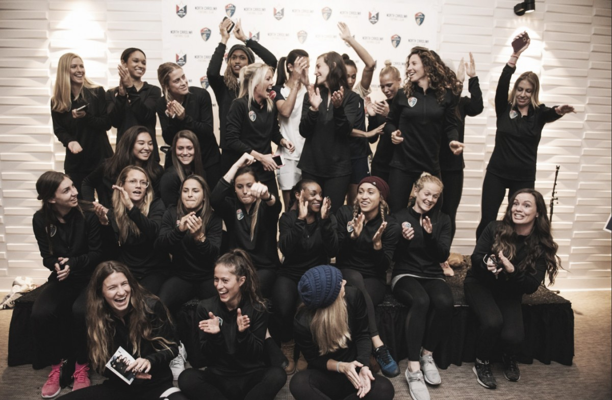 North Carolina Courage announce final roster for 2018