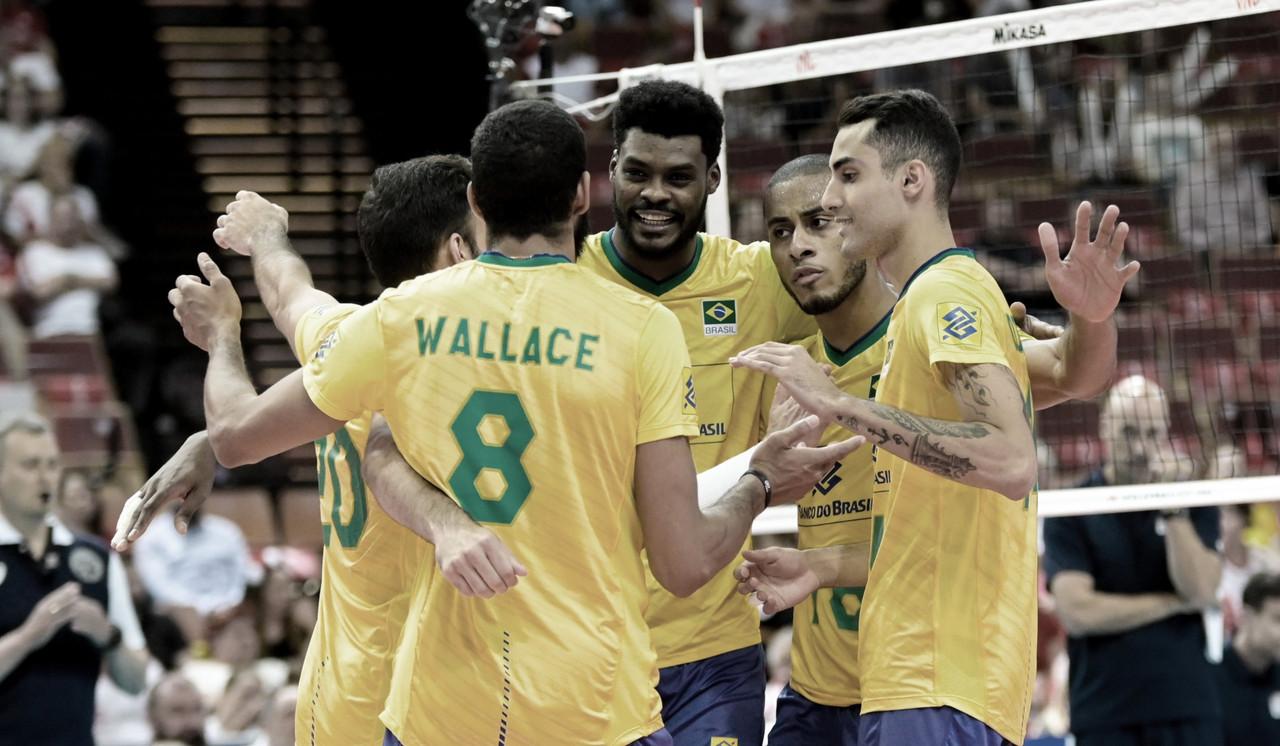 Com a mão direita! Brasil derrota Estados Unidos na estreia da Liga das Nações
