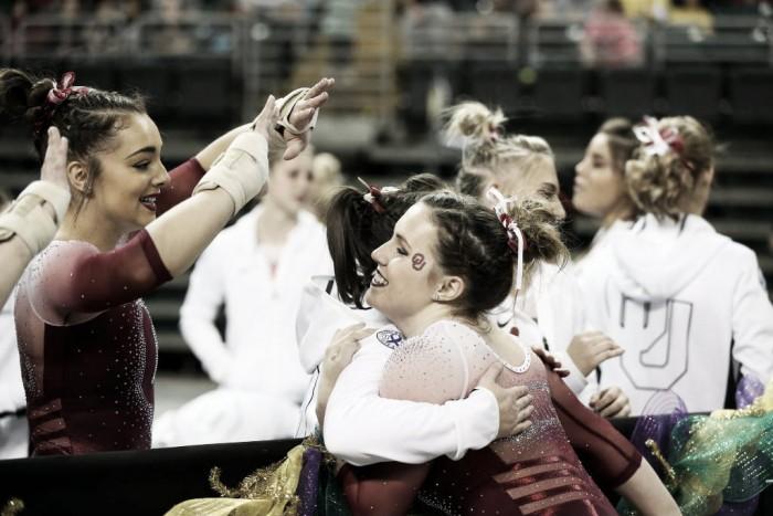 NCAA Gymnastics: 2017 Gym Quarters Invitational
