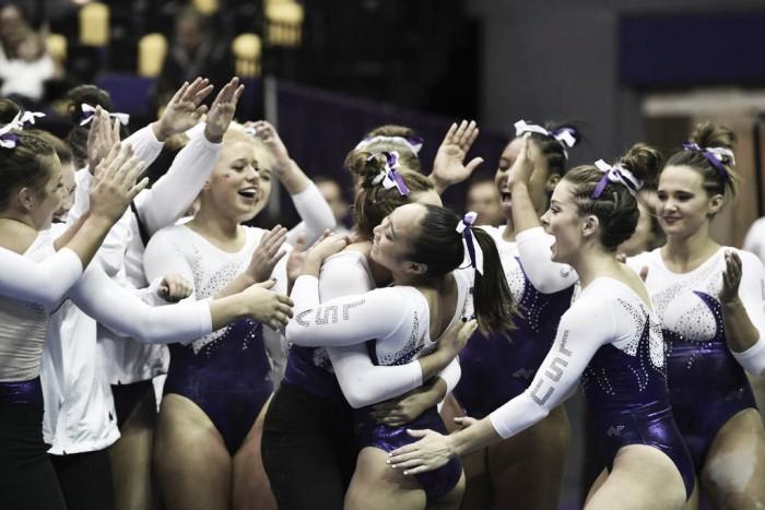 NCAA Gymnastics: LSU scores impressive early season win over Georgia