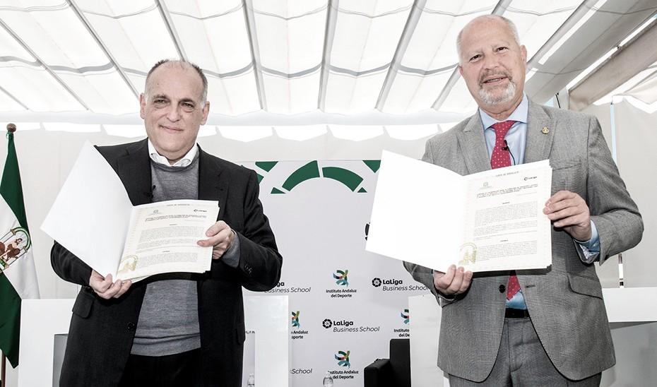 Acuerdo entre la Junta de Andalucía y La Liga