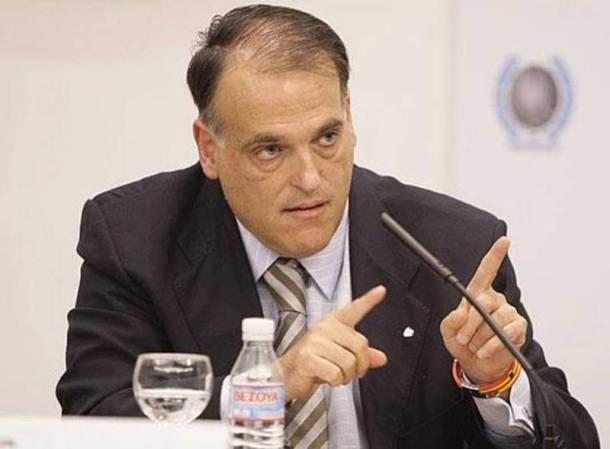 Según Javier Tebas, el CD Mirandés jugará en Segunda B