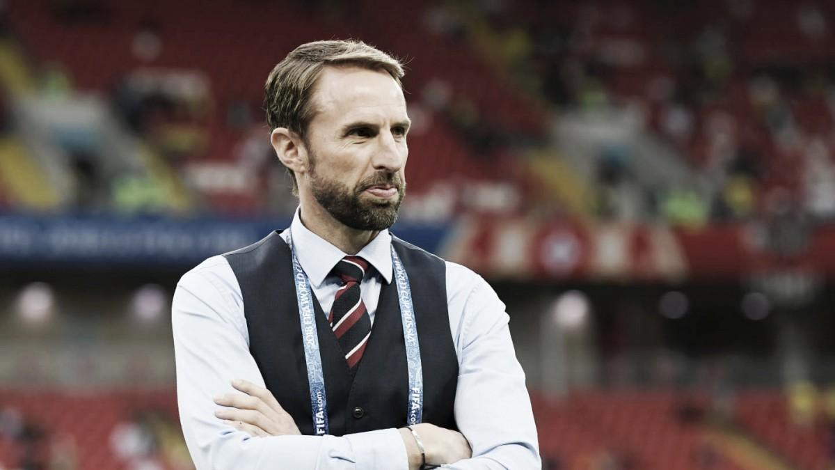 """Gareth Southgate enaltece Inglaterra em decisão de pênaltis: """"Calmos e focados"""""""