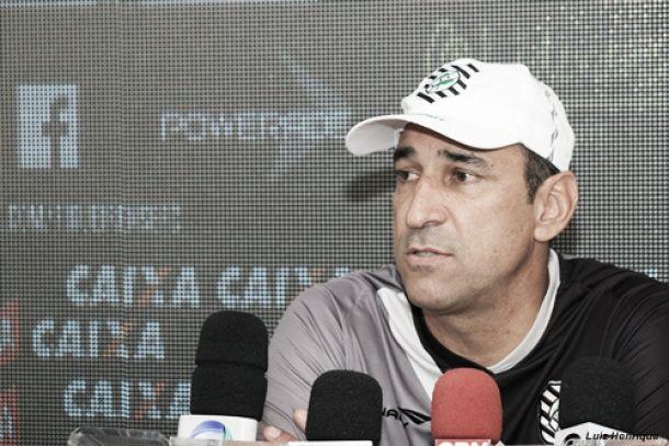 Técnico do Figueirense atribui derrota ao árbitro