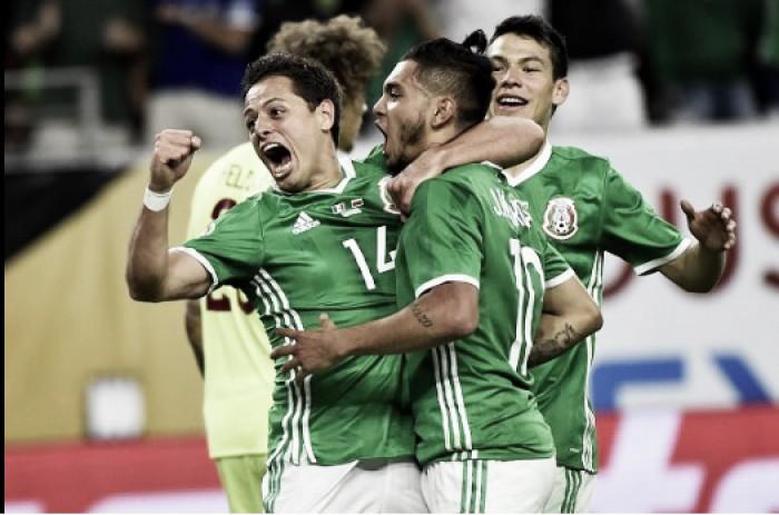 Copa America Centenario: Jesús Corona's wonder strike ensures top of the group for Mexico