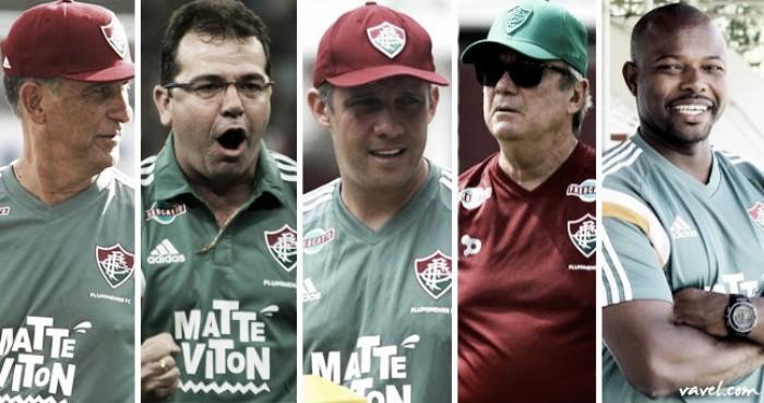 Desde 2011, Fluminense tem média de um técnico a cada seis meses