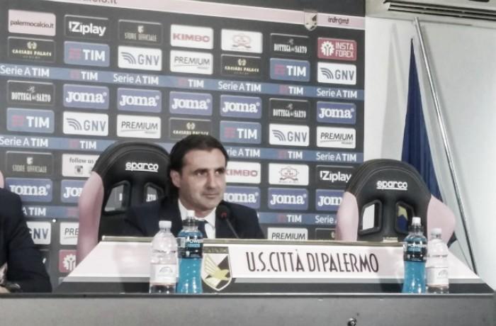 """Palermo, ecco Tedesco: """"Sono emozionatissimo, con Schelotto c'è complicità"""""""