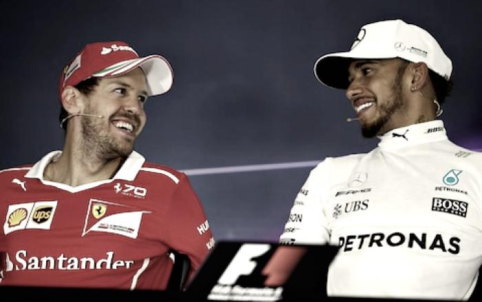 """Vettel su Hamilton: """"Grande rispetto per lui, molto forte ma non imbattibile"""""""