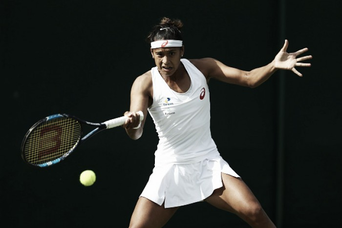 Teliana Pereira leva a virada de Lepchenko em Wimbledon