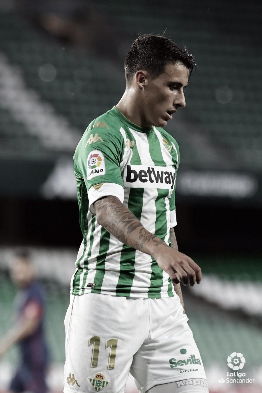 Tello, MVP del Real Betis - Atlético de Madrid