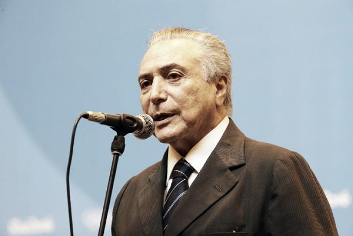 Presidente do Brasil, Temer decreta luto de três dias em função de tragédia com a Chapecoense