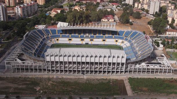 La Rosaleda se ajustará a la normativa UEFA de encuentros europeos