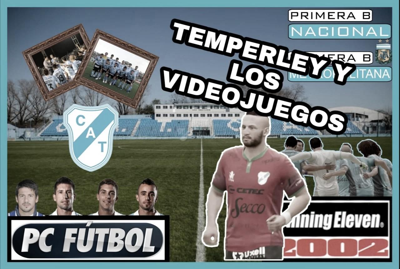 Del PC Fútbol al FIFA: la historia de Temperley y los videojuegos