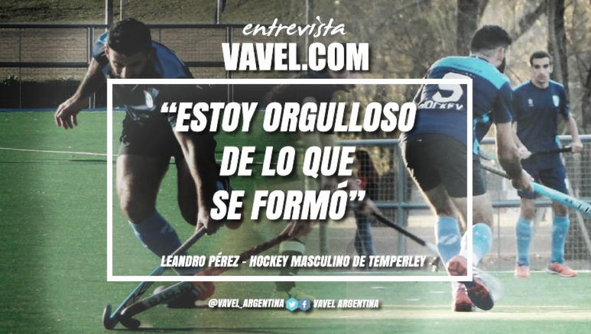 """Entrevista. Leandro Peréz: """"Tengo muchas ganas de jugar un Metropolitano"""""""