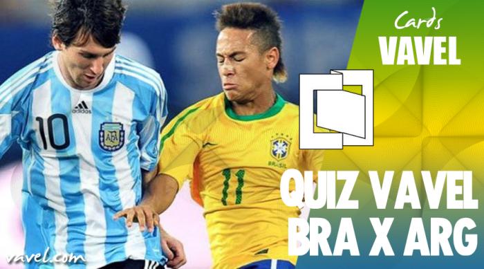 QUIZ: Você sabe tudo sobre o clássico Brasil x Argentina?