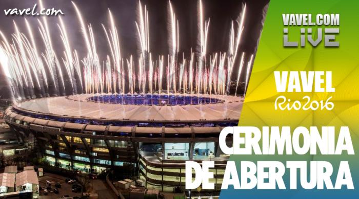 Cerimônia de Abertura da Olimpíada Rio 2016
