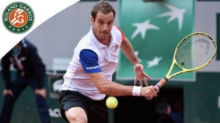 Roland-Garros : Richard Gasquet reste à quai