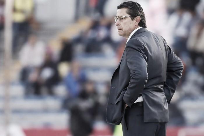 """Luis Fernando Tena: """"Nuestro equipo en general ha sido sólido defensivamente"""""""