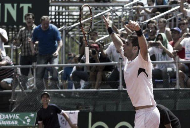 Argentina pasó a cuartos en la Copa Davis