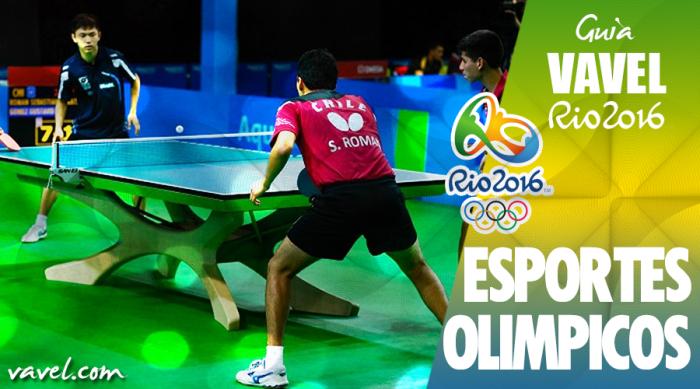 Tênis de Mesa: tudo o que você precisa saber para o Rio 2016