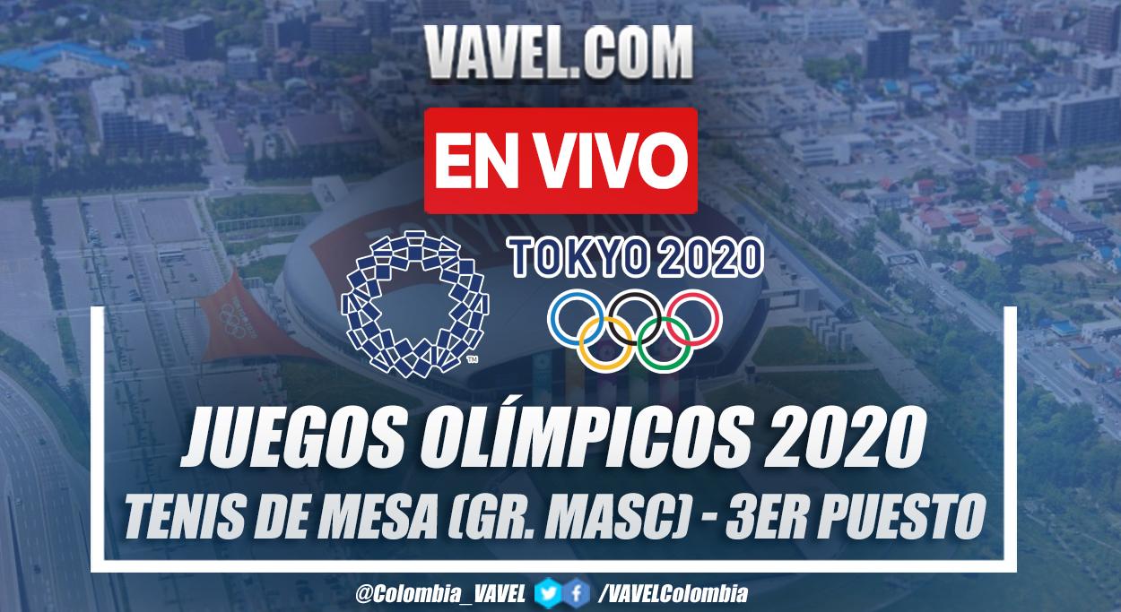 Resumen Corea del Sur 1-3 Japón en Tenis de mesa por Juegos Olímpicos 2020
