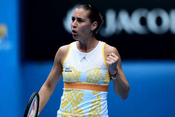 Australian Open: Pennetta carattere e cuore, si vola ai quarti di finale