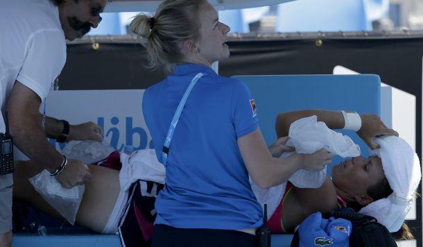 """Australian Open, caldo e tempeste: """"Condizioni estreme"""""""