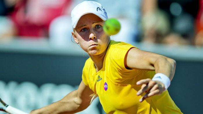 Sueca elimina Teliana Pereira na segunda rodada em Rabat