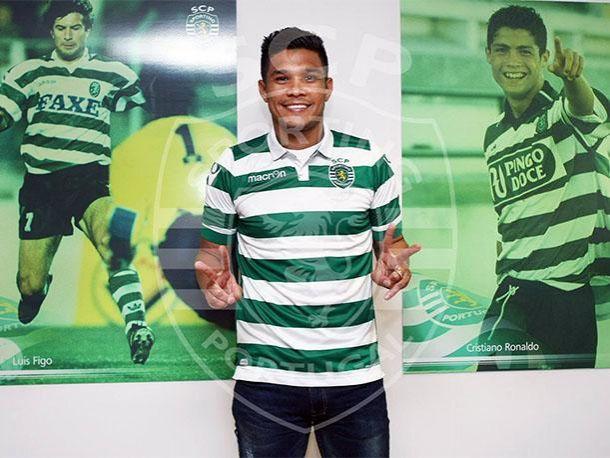Ahora sí: Teo Gutiérrez firmó con el Sporting de Lisboa