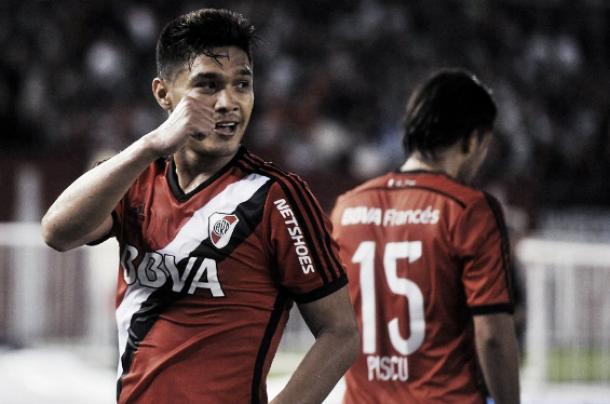 Teófilo Gutiérrez, clave en el triunfo de River Plate ante Rosario Central