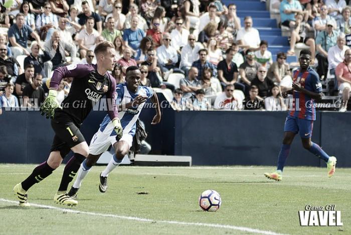 Ter Stegen y su partido 50 con el FC Barcelona