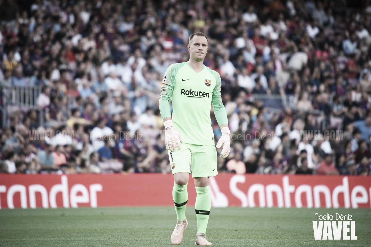 Cuatro partidos seguidos sin encajar un gol en el Barcelona