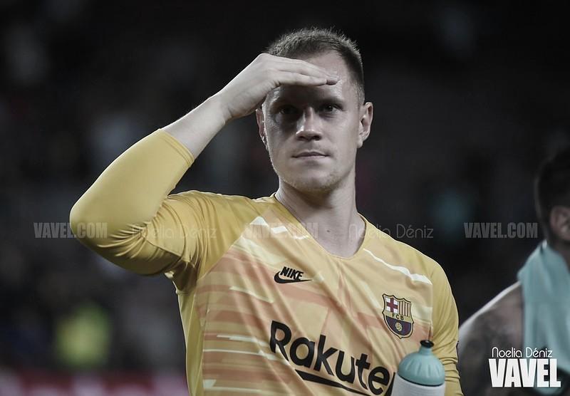 """Ter Stegen: """"No me iré del Barça este verano"""""""