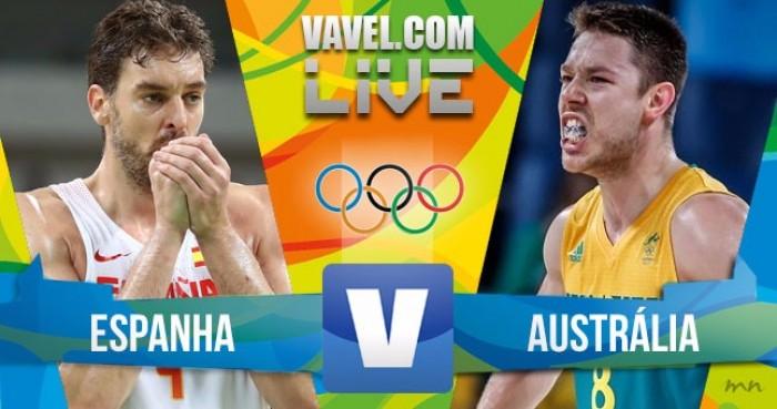 4470cf49d5 Espanha x Austrália pelo basquete masculino nos Jogos Olímpicos ...