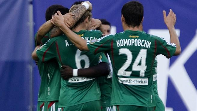 Ailton mantiene al Terek Grozny en la parte alta
