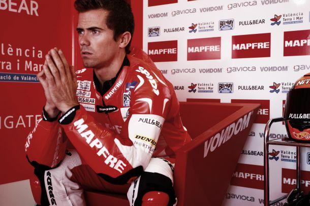 Nico Terol no estará en Silverstone