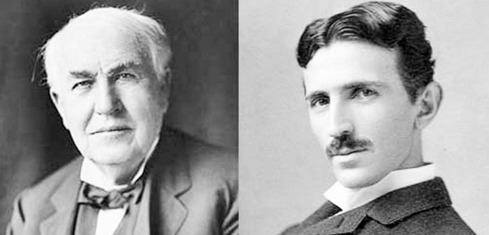 Tesla - Edison, la batalla de la genialidad