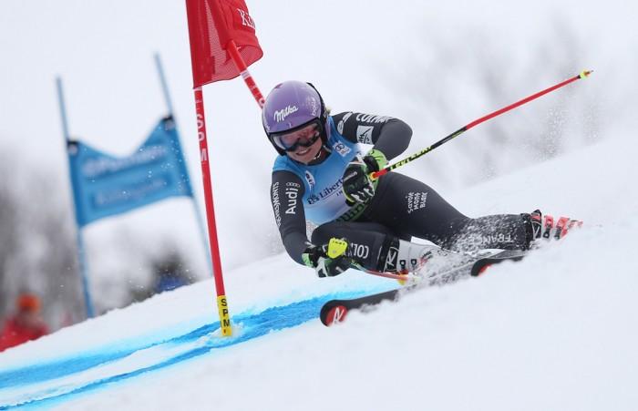 Sci Alpino, Killington slalom gigante femminile 2° manche: il ritorno della Worley!
