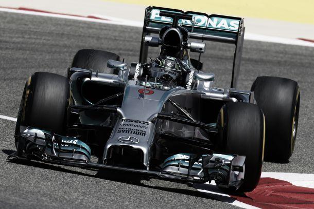 Nos testes no Bahrain, ainda e sempre a Mercedes